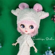 "Takara 12"" Neo Blythe original OOAK customize doll pink short hair jointed body"