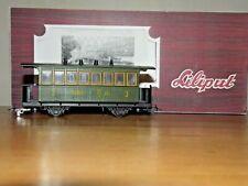 "Liliput Austria Personenwagen BCs 351 2/3.Kl.der SKGLB ""Salzkammergut-Bahn""H0e"
