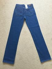 Women's Levis Demi Curve Straight Stretch Jeans W25 L32 BNWT (652)