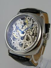 CREATION Montre coussin squelette type Unitas 6497 skeleton watch Skelettuhr