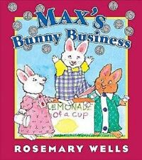 """Max & Ruby """"Max's Bunny Bussiness"""" New  Book"""