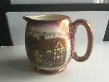HAND-PAINTED TEA POT CREAMER PITCHER* GRAY'S POTTERY STOKE-ON-TRENT ENGLAND*FINE