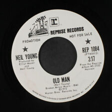 Neil Young: Old Man / The Needle And The Damage Done 45 (dj) Rock & Pop