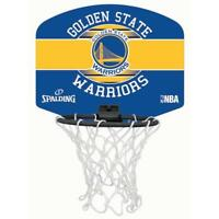 Spalding Basketball Official Team Logo Golden State Miniboard & Miniball Set