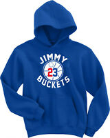 "Jimmy Butler Philadelphia ""Buckets Logo"" HOODED SWEATSHIRT"