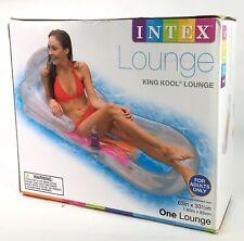 Intex King Kool Inflatable Lounge 63 X 33 Pool Float
