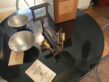NOS Antique Premier Film Titler Steam Punk Lamp