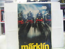 MÄRKLIN  Katalog 1977 SIEHE BILD (1 Aufkleber auf dem Deckblatt)