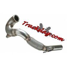 """Trackslag 4"""" Decat Downpipe for Seat Leon 5F MK3 Cupra 2.0T 280 290 300 NON-GPF"""