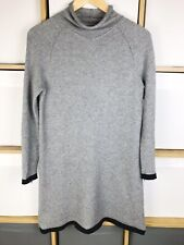 COS Grey Wool Blend Tunic Jumper Dress Size XS / UK 6 - 8 VGC