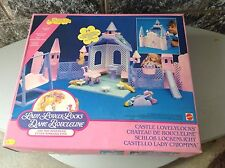 1986#Rare Vintage Mattel Lady Lovely Locks Castle Lovelylocks Nrfb Sealed