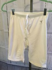 NEW WITH TAGS INSPORT U185 BRUTE SHORT ADULT LARGE WHITE LYCRA