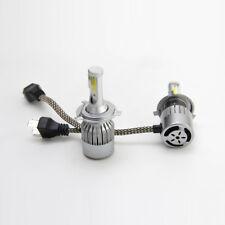 2X H4 6000K 36W HID LED Headlight Light Kits C6 Cob LED Fog Lamp 9003 HB2