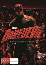 DAREDEVIL COMPLETE SECOND SEASON 2 DVD Region 4 BRAND NEW & SEALED!