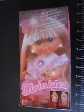 ☆˚。Mattel Doll Bambola Miss TWINKLES Rare Hasbro Vintage ˚☆