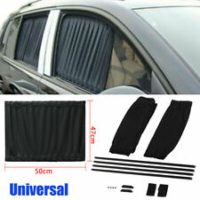 Car Sun Shade Side Window Curtain Auto Foldable Uv Protection Accessories Kit Us (Fits: Daewoo)