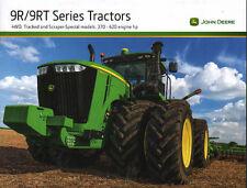 John Deere 9R/9RT 4x4, suivi & Grattoir Spécial 370 - 620hp Tracteur brochure