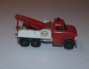 Matchbox Lesney Esso Ford Heavy Wreck Truck No. 71