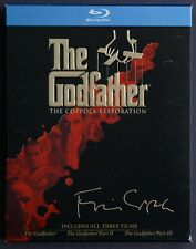 The Godfather Collection - The Coppola Restoration (2008 Blu-Ray 4-Disc Set)
