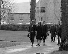 President John F. Kennedy and Jackie at Eleanor Roosevelt funeral New 8x10 Photo