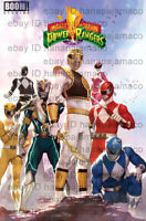 Mighty Morphin Power Rangers MMPR #1 Inhyuk Lee Variant Preorder 11/15 NM