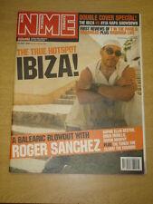 NME 2001 JUL 14 ROGER SANCHEZ RADIOHEAD MADONNA IBIZA