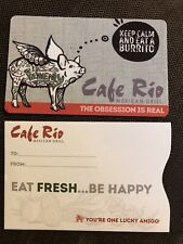 Cafe Rio Mexican Grill Gift Card $50