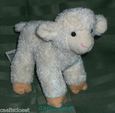 "Douglas Babba LAMB 8"" Plush Baby Sheep Stuffed Farm Animal Cuddle Toy NEW"