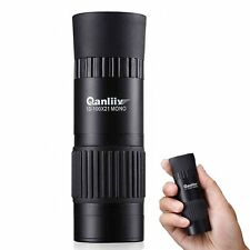 UK QANLIIY 10-100x21 Pocket-Size Mini HD Night Vision Monocular Telescope Tripod