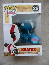 FUNKO POP! KRATOS - GOD OF WAR Games  #25 RETIRED FIGURE NYCC