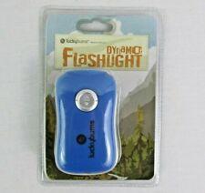 Lucky Bums Dynamo Flashlight NWT Wind Up No Battery Camp Hike Emergency