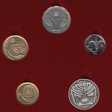 """5760/2000 Official Uncirculated Coin Set  """"Israel Salutes ANA"""" medal + 4 COINS"""