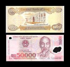 1,000 Iraq Iraqi Dinar  And Recieve 50,000 Vietnamese Viet Nam Dong Free