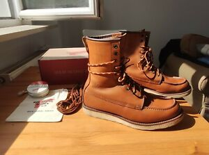"""Red Wing model 877 8"""" Classic Moc Toe Oro Legacy"""