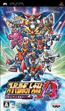 Used PSP Super Robot Taisen A Portable  Japan Import ((Free shipping))