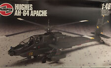 Airfix Hughes Ah-64 Apache Attack Helicopter New Model Kit 1/48