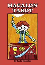 """""""Macalon Tarot Ver.3"""" 78 Cards Deck & Japanese Commentary F/S w/Tracking# Japan"""