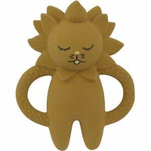 Konges Slojd Teething Soother - LION * BPA and phtahalate free* FREE UK Shipping