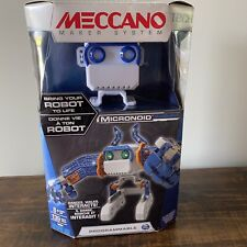 Meccano Micronoid Robot Building Kit Programmable NEW 139 Pieces Ages 8 and up