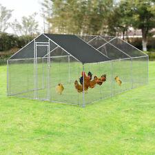 Freilaufgehege Freigehege Tierlaufstall Kleintierstall Hühnerstall Stall 3x6x2m