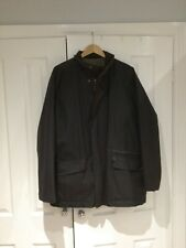 Mens Brown Wax Jacket by M&S