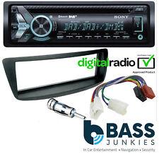 Toyota AYGO 2005-14 SONY Bluetooth DAB CD MP3 USB AUX Car Stereo & Fitting Kit