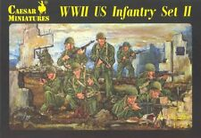 Caesar Miniatures H071 Figure WWII US Infantry Set II