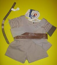 New Build-A-Bear STAR WARS HERO FIGHTER REY RAY COSTUME Outfit