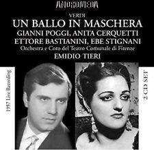 Giuseppe Verdi Un Ballo in Maschera (Intégrale), New Music