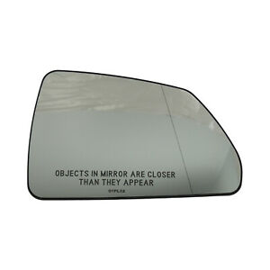 25828087 Outside Rearview Mirror Glass Right English Text 2008-13 Cadillac CTS