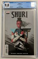 Shuri 1 Variant CGC 9.8 second print Partial sketch cover, Black Panther-MCU