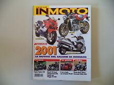 IN MOTO 10/2000 CAGIVA RAPTOR 650/HONDA VT 750/VTR SP-1/KAWASAKI VN 800 DRIFTER