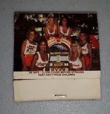 First Edition Hooters Girl Uniform Matches Book Matchbook Jukebox Pack VERY RARE