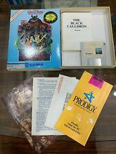 "Disney Black Cauldron PC Game by Sierra Rare 1985 - Vintage 3.5"" COMPLETE!"